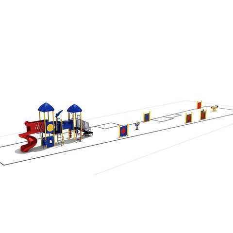 KP-80053 A | Commercial Playground Equipment