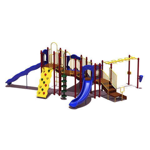 1-UPLAY-015 Slide Mountain | Commercial Playground Equipment
