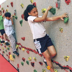 RCSC-TI | School Climbing Traverse Wall
