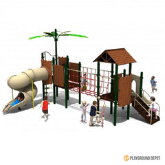 UL-9025-1(x1) - School Playground Equipment