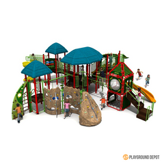 UL-K7058(X1) | Commercial Playground Equipment