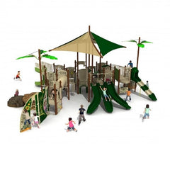 UL-K7075 - Commercial Playground Equipment