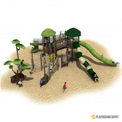 UL-K7077-1 - Commercial Playground Equipment