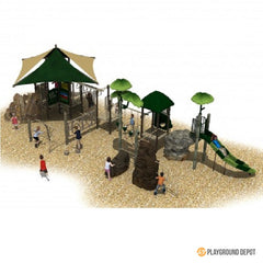 UL-K7081-1 - Commercial Playground Equipment