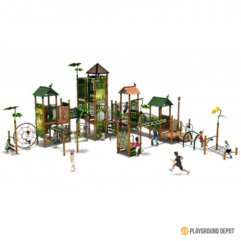 UL-NP104-2 - Commercial Playground Equipment
