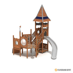 UL-WS102E | School Playground Equipment