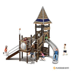 UL-WS102K | Themed Commercial Playground Equipment