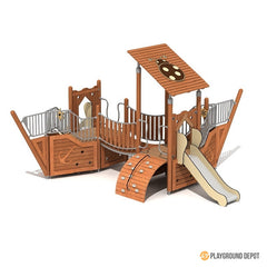 UL-WS104E | School Playground Equipment