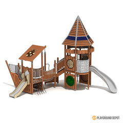 UL-WS106E | Commercial Playground Equipment