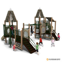 UL-WS403 | Themed Commercial Playground Equipment