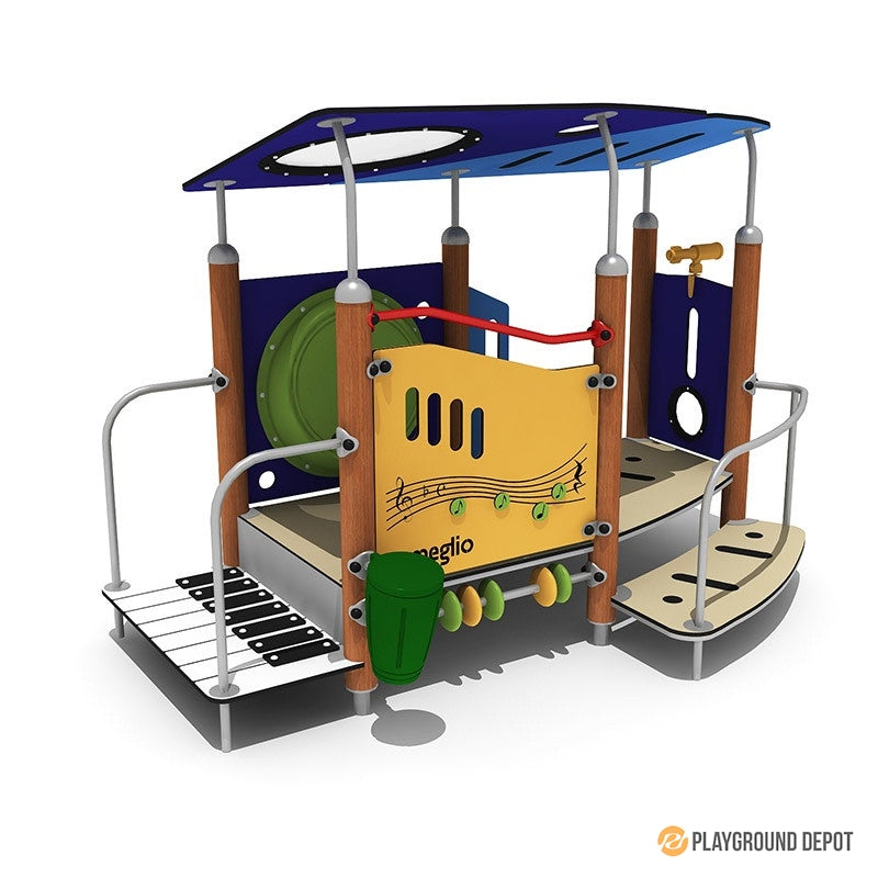 UL-WS506 | Commercial Playground Equipment