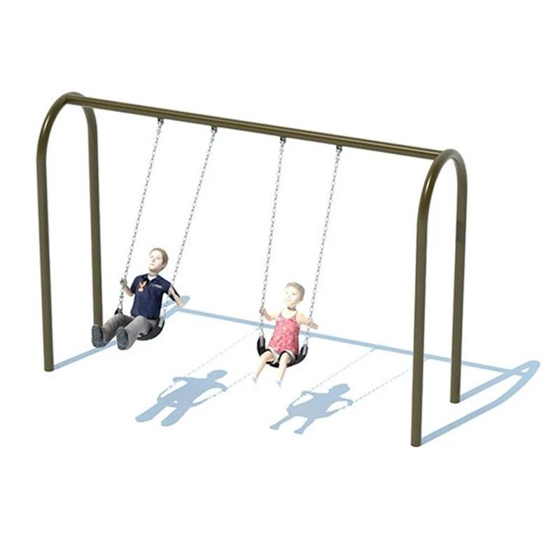 "3.5"" ARCH SWING FRAME (8') - 1 BAY"