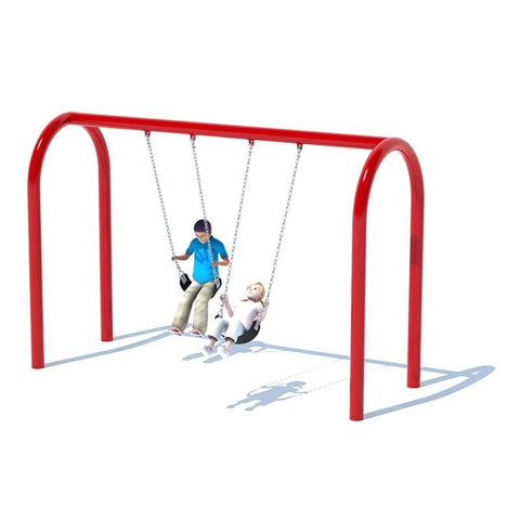 "5"" ARCH SWING FRAME (8') - 1 BAY"