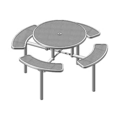 "46"" Round Table, Inground (363)"
