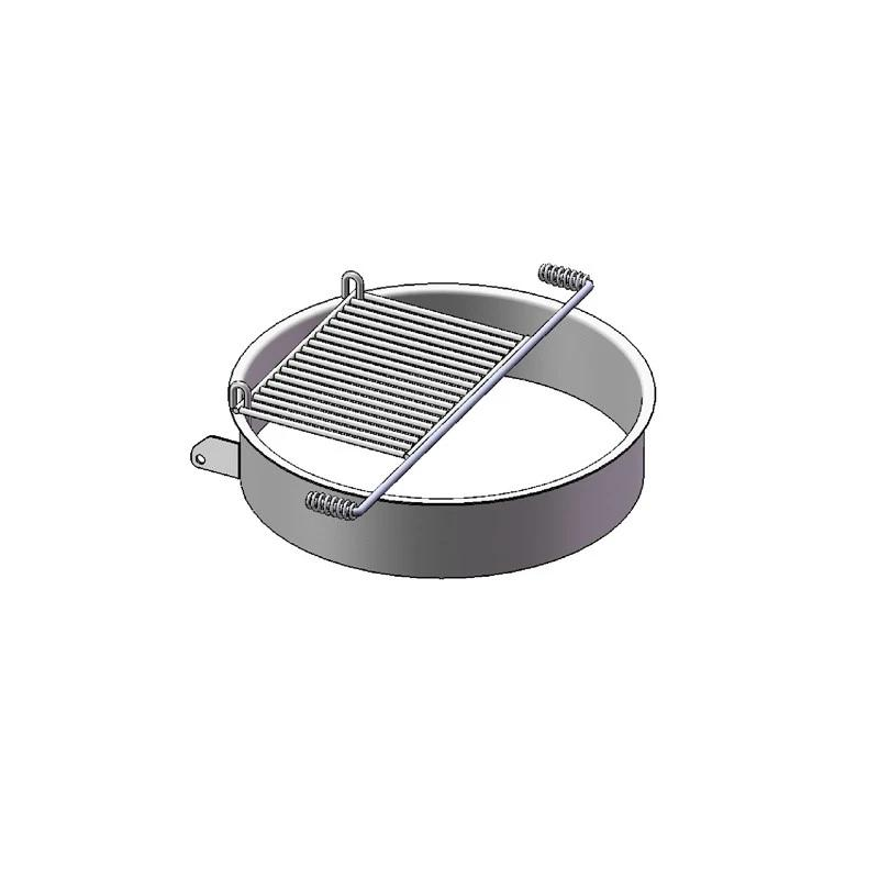 "7"" High Fire Ring With Grate (300 Sq. Inches) (600)"