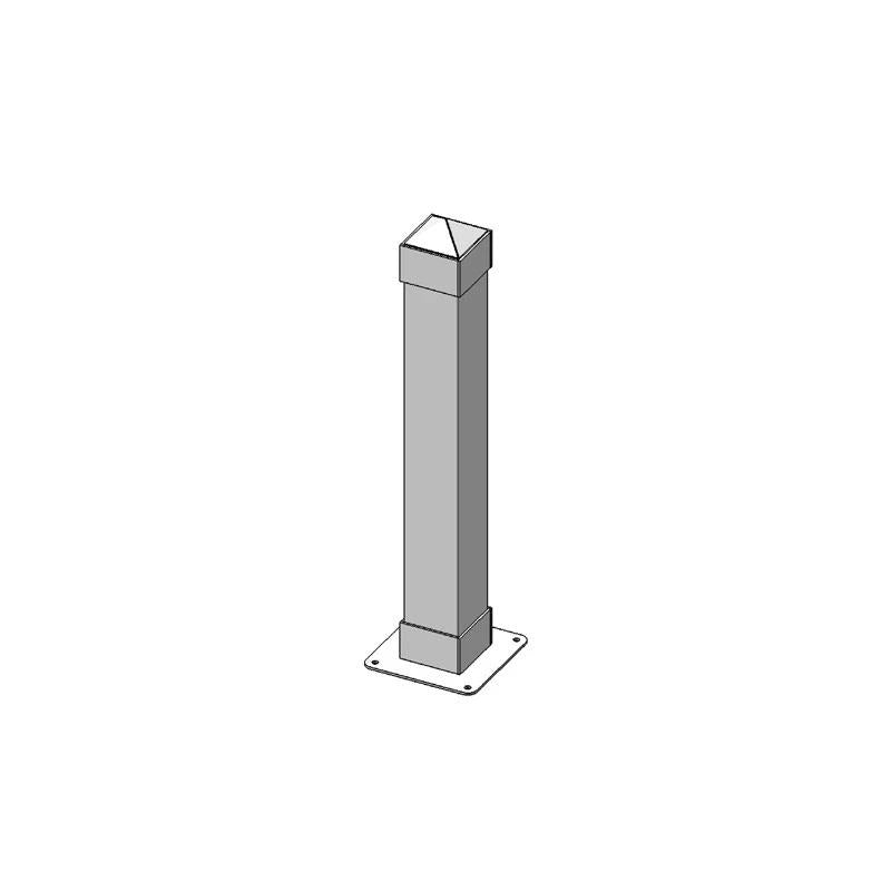 "6 SQ Dover Bollard 4ft Surface Mount P/C"" (2024)"