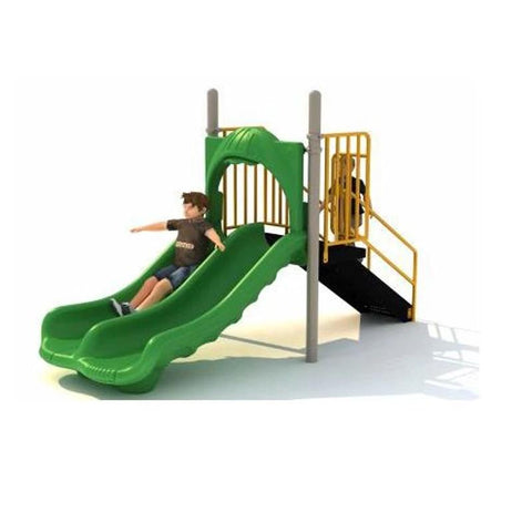 3ft Free Standing Double Slide