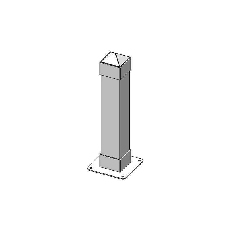 "6 SQ Dover Bollard 3ft Surface Mount P/C"" (2023)"
