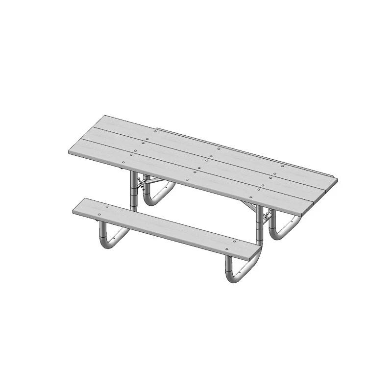 8' Double Sided Extra Heavy Duty ADA Table (238H)