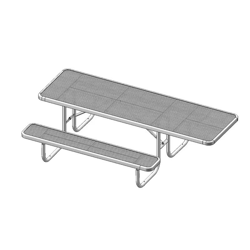 8' Single Sided ADA Table (158HS)
