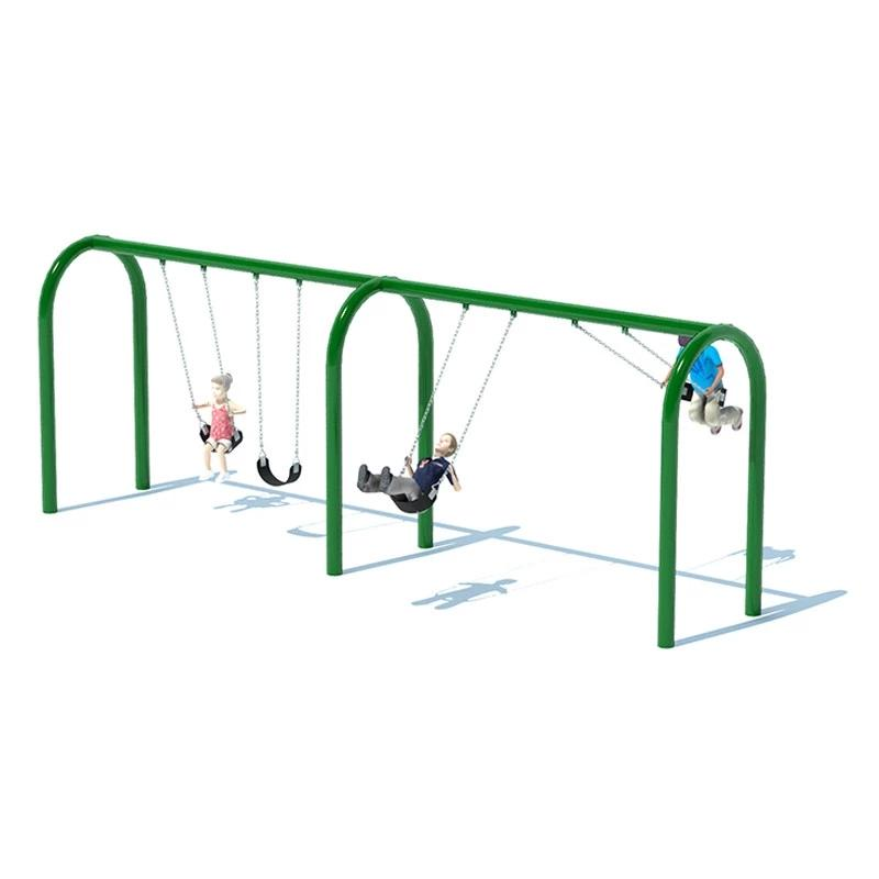 "5"" ARCH SWING FRAME (8') - 2 BAY"