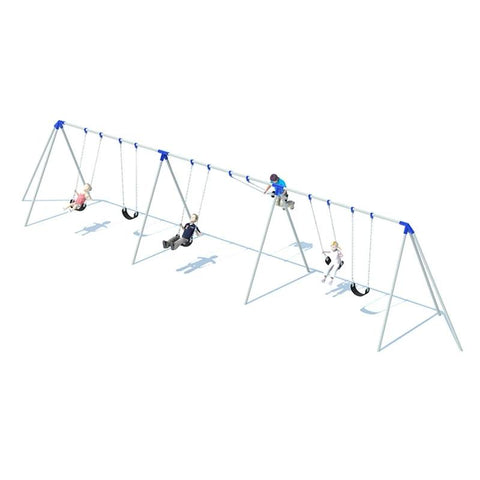 TRI-POD SWING FRAME (10') - 3 BAY
