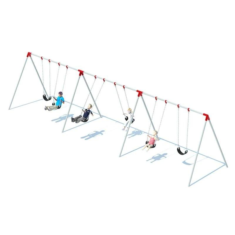 BI-POD SWING FRAME (8') - 3 BAY