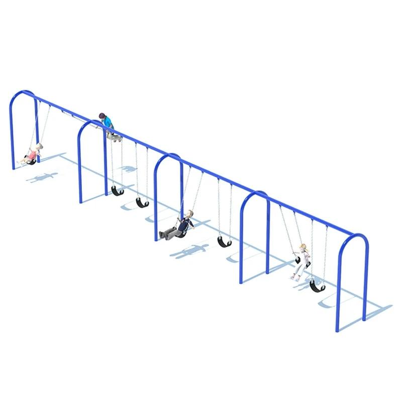 "3.5"" ARCH SWING FRAME (8') - 4 BAY"