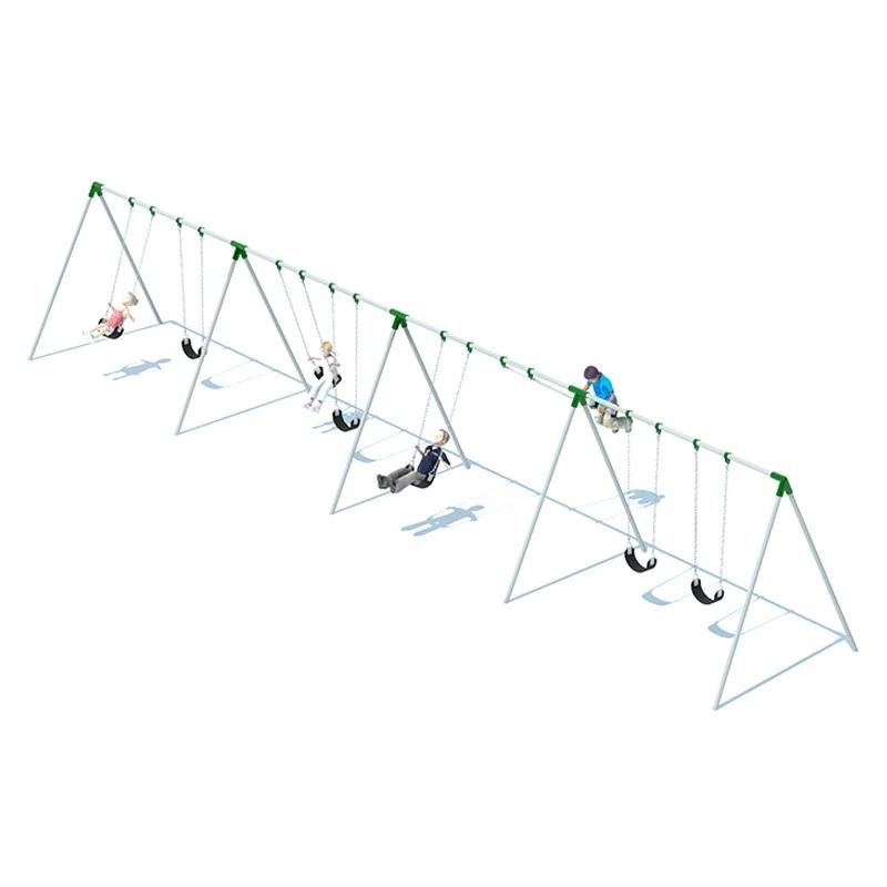 BI-POD SWING FRAME (8') - 4 BAY