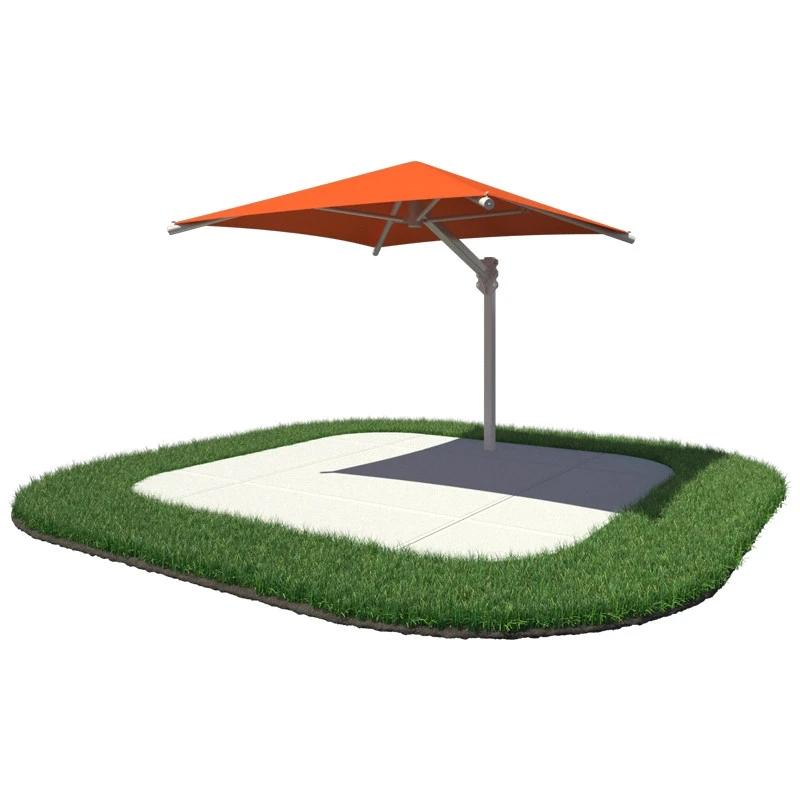 18'x18' Single Post Square Umbrella