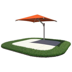 10'x10' Single Post Square Umbrella