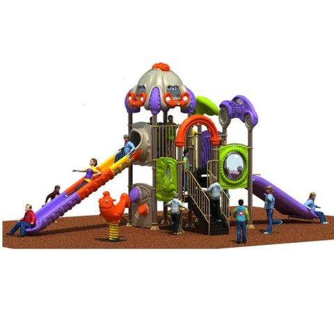 PD-C088 | Race Car Themed Playground