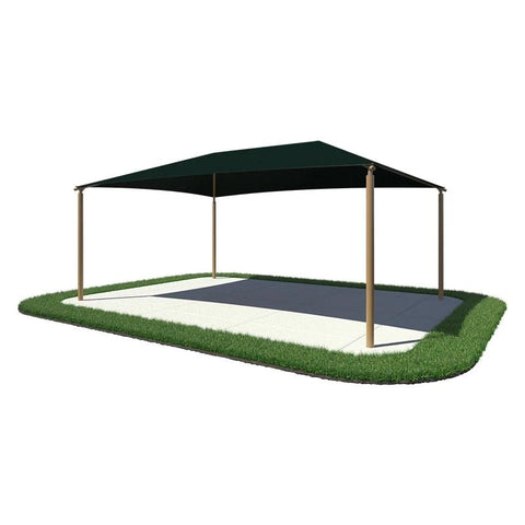 15'x25' Rectangle Shade