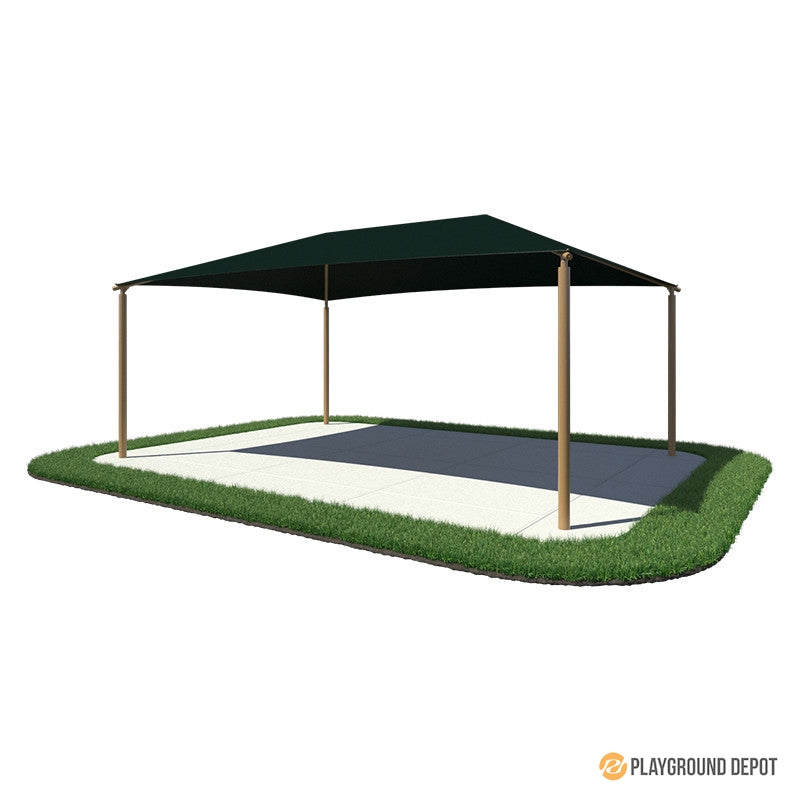 24'x38' Rectangle Shade