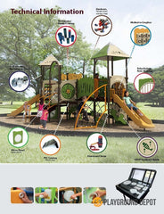 UL-WS111 | Themed Commercial Playground Equipment