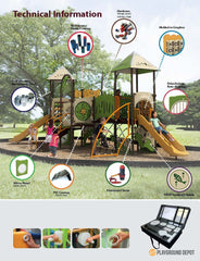 UL-OA06-B1(x3) - Commercial Playground Equipment