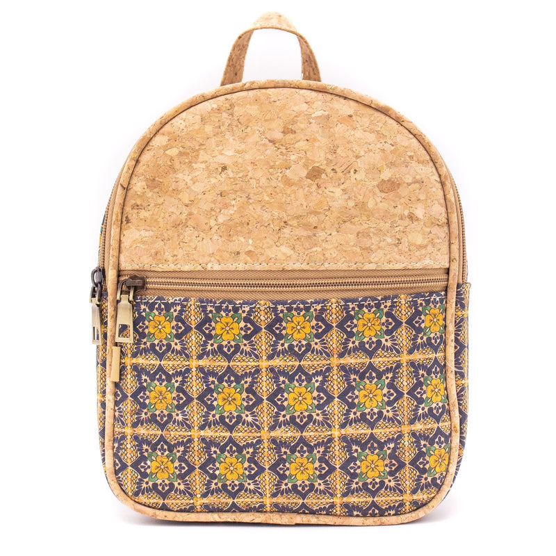 Natural cork girls women backpack  BAG-627-AB-Backpack