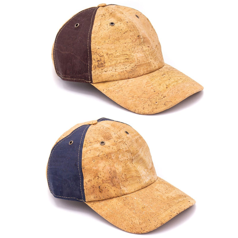 Natural blue cork hat natural cork Baseball cap L-513