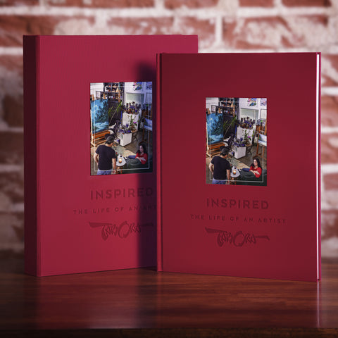 """Inspired: The Life Of An Artist"" by Roy Tabora (Deluxe Limited Edition)"