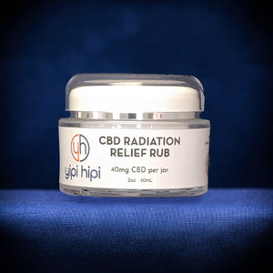 CBD Radiation Relief Rub