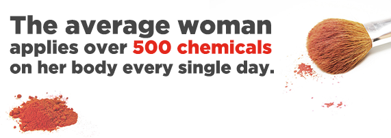 Over 500 Chemicals a day