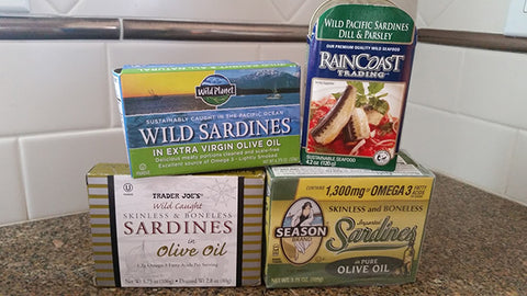 Sardine Salad Ingredients