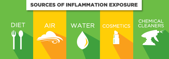Sources of Inflammation Exposure