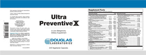 Ultra Preventive® X - 240 Vegetarian Capsules Default Category Douglas Labs