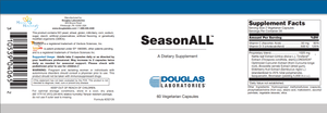 SeasonALL ™ - 60 Capsules Default Category Douglas Labs