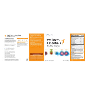 Wellness Essentials Healthy Balance - 30 Packets Default Category Metagenics