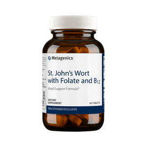 St. John's Wort with Folate and B12 - 60 Tablets Default Category Metagenics