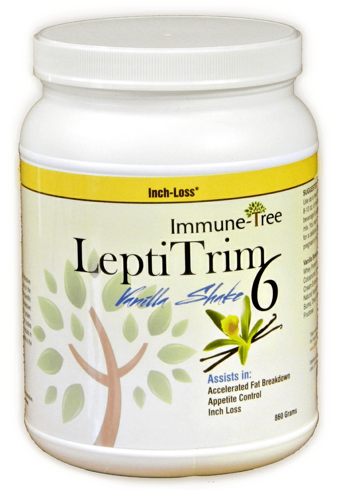 LeptiTrim 6 Vanilla Meal Replacement Shake 856 Grams