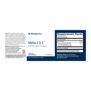 Meta I-3-C Default Category Metagenics