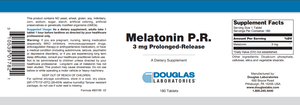 Melatonin P.R. Default Category Douglas Labs